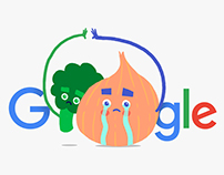 Google Stickers - Melancholic Onion