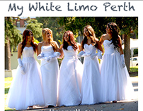 White Chrysler Limousine Hire Perth