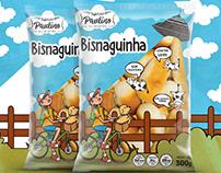 Design de embalagem de bisnaguinhas para Nonno Paulino