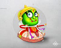 Doodle Kathakali