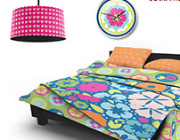 Surface Pattern Design: Florals collection
