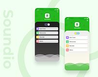 App UI/UX design concept