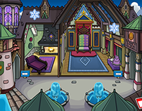 Club Penguin: Frozen Partnership 2014 and 2015