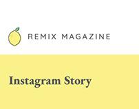 Remix Magazine Instagram