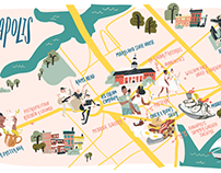 Baltimore Magazine- Annapolis Map