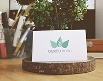 Ogród Roku  - branding