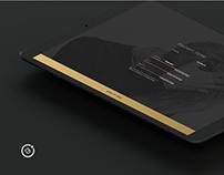 Premium Login Component for Ionic