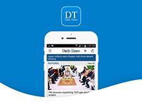 DailyTimes News App