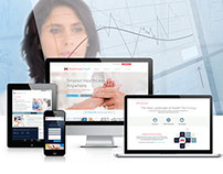HealthcareLinked | Responsive Web Application