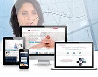 HealthcareLinked | Responsive Web Application