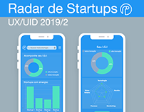 Radar De Startups - UX/UI Design (2019)