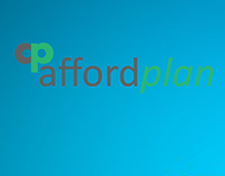 Web page design for affordplan