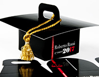 Custom comfit and favor boxes for your graduation!