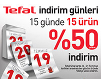 Tefal Discount Days Campaign
