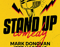 Stand Up Comedy Flyer Template