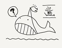 Inktober2018 : 12 Whale