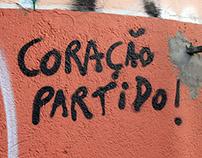 Fotografia - Grafite na Travessa da Lapa, Curitiba