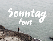 Sonntag Font
