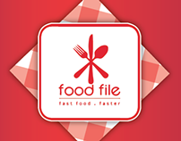 Food File - Logo / Identity / Phone app
