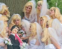 Herd of Brides, Digital Print, 2012