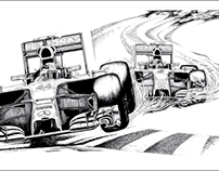 Lewis Hamilton Wins F1 Title