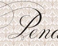 Penabico - script font released