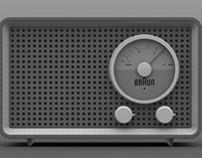 Braun SK2 Radio