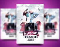 Sneakers 'n Speakers #1 Flyer