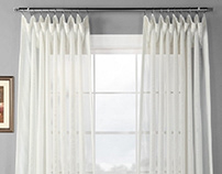 Add Some Grace with the Sheer Curtain Panels