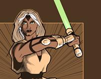 Kel-Sie, Jedi Knight