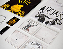 AroarA 'In the Pines' EP Album and Merchandise Design