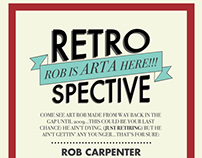 Rob Carpenter's Retrospective Poster