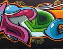 Mr. June murals