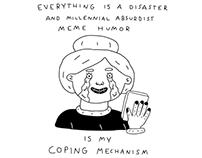 Absurdist Meme Humor