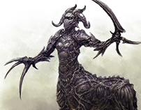Concept Art - Centaur Demon