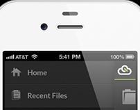 CloudOn UI/UX