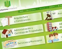 Urbanismo Inmobiliario: Branding & Web Design