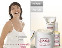 Maam Cremas: Web Design
