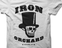 Iron Orchard Logo Design