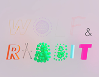 Holiday Greetings from Wolf & Rabbit