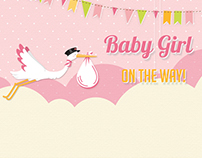 Baby Shower Invitation Video