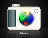 Icon for 3D Camera Globe iPhone App