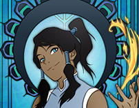 Legend of Korra - Art Nouveau style!