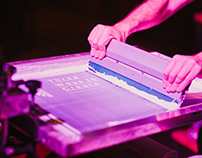 Three Ways to Create / Adidas / Live Screen Printing