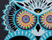 Kaleidoscope Eyes - Owl