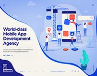 Mobile Application Development - Header UI Exploration