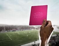 Umbro Pink Card