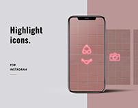 Highlight icons for instagram | Swimwear Brand