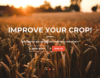 Website for company that helps with agriculture growth