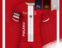 Poland Home kit 2016 - Kabbadi world championship
